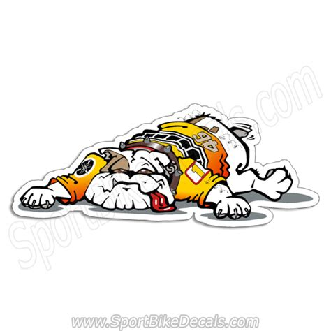 Yamaha Bulldog Aufkleber by Motorcycle Decals Page 38