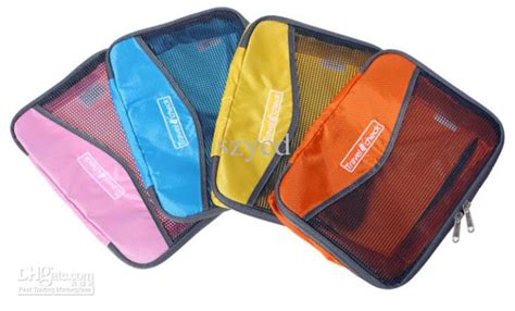 Pouch Travel Pouch Polyester Mesh Size L 1 cheap travel check organizer traveling bag in bag mesh pouch storage bag travelus size l