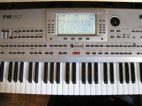 Keyboard Korg Pa80 korg pa80 image 44783 audiofanzine