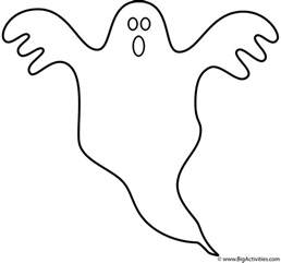 ghost coloring page ghost coloring page