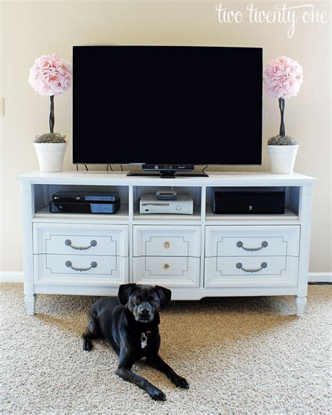 Tv Stand Out Of Dresser by 35 Ways To Transform Your Furniture