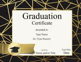 College Graduation Certificate Template by Graduation Certificate Template Customize Print