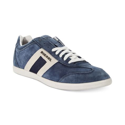 diesel sneakers diesel shoes happy hours vintagy lounge sneakers in blue