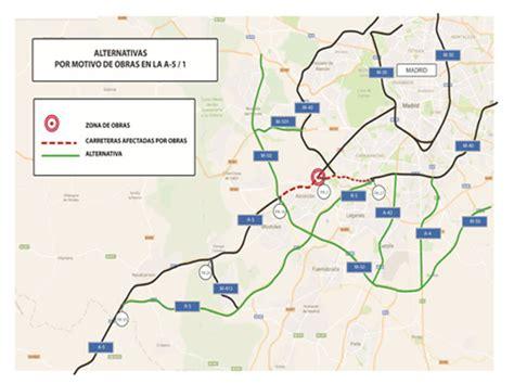 camaras trafico m40 importantes atascos en la a5 y m40 hasta noviembre
