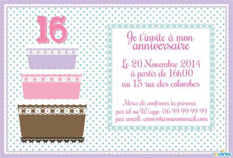 10 invitations anniversaire pour ados gratuites 224 imprimer