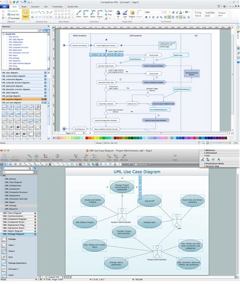 mac diagramming software uml diagramming software