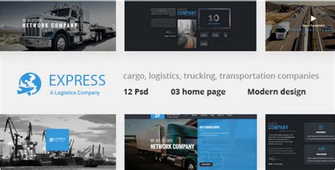 Express Logistics Transport Logistics Html Template 45 best transportation html website templates 2018