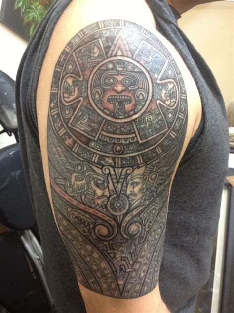 100 aztec gods designs a page 59 of 78 aztecs tattoos www pixshark images galleries with