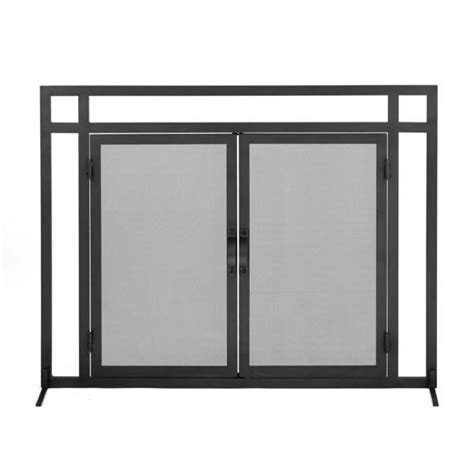 Woodfield Patio Hearth Woodfield Mission Style Black Wrought Iron Fireplace