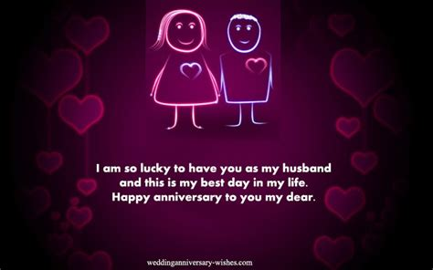 Wedding Anniversary Quote For Your by Wedding Anniversary Quotes For Your Husband Wishes