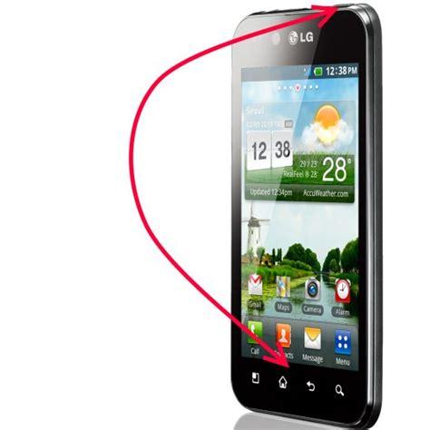 how to screenshot on android lg screenshots unter android erstellen lg p990 optimus speed und p970 optimus black lg