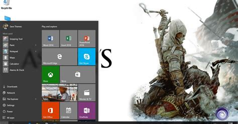 themes for windows 7 assassin creed assassin s creed 3 theme for windows 7 8 8 1 and 10 save