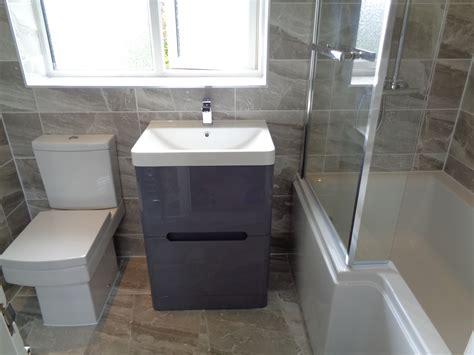 bathtub refitting refitting bathroom in stratford upon avon with grey theme