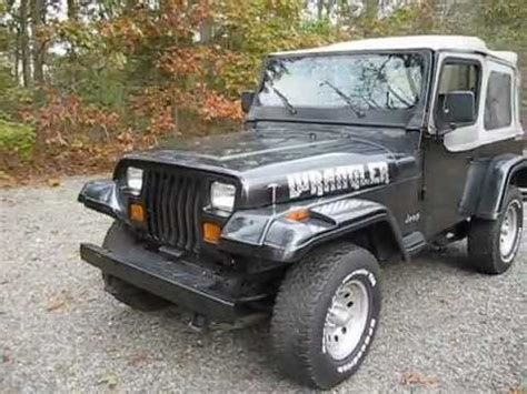 1991 Jeep Wrangler Sale 1991 Jeep Yj Wrangler For Sale South Jersey