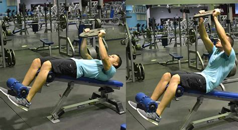 crunches on bench weighted crunches on decline bench exercise the optimal you