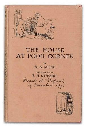 house at pooh corner the house at pooh corner first edition by a a milne