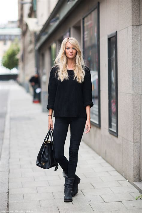 all black how to rock an all black outfit stylishly aelida