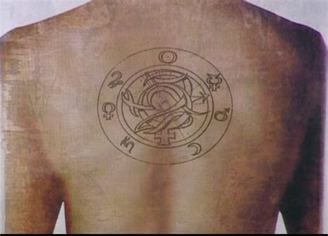constantine tattoo meaning to hell a hellblazer site