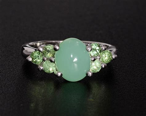 gemstone mint green opal jewelry information value