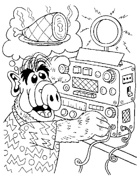 coloring printables alf coloring pages coloringpages1001