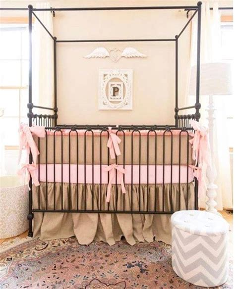 Convertible Canopy Crib by Canopy Crib Vintage Gold