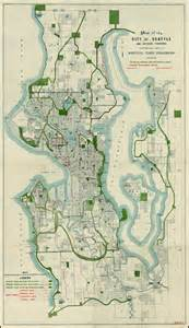 Seattle Zoning Map by Map Of The City Of Seattle And Adjacent Territory