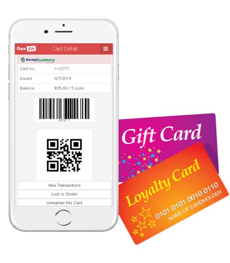 Gift Card System For Restaurants - gift loyalty card mobile app