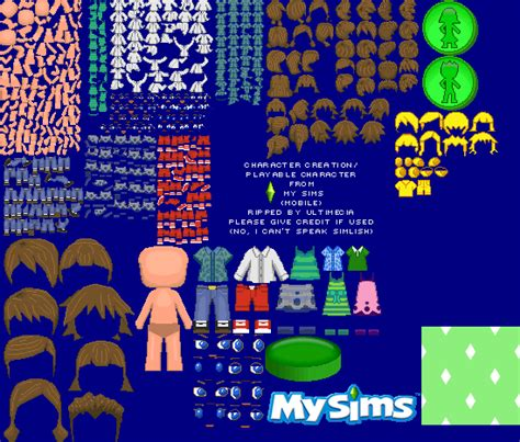 my sims mobile the spriters resource
