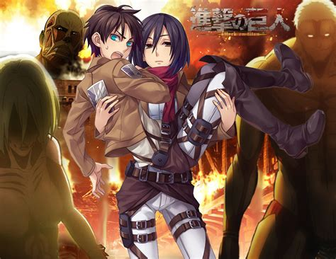 8 Anime Like Attack On Titan 8 fantastic attack on titan wallpapers daily anime