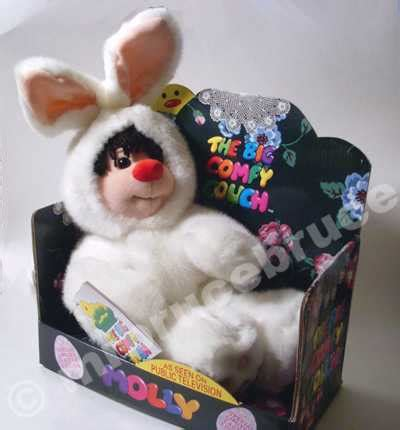 Big Comfy Doll House by Big Comfy Molly Doll In Bunny Costume New