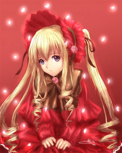 rozen maiden shinku the fifth rozen maiden doll images shinku hd