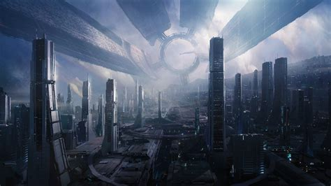 Mass Effect Dual Monitor Wallpaper