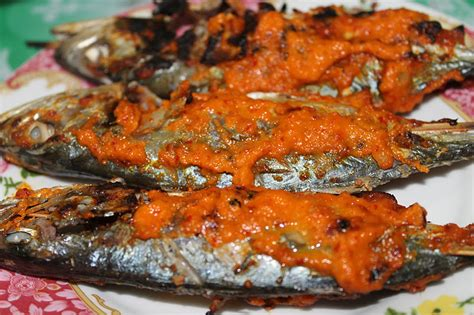 ikan percik merah kelantan azie kitchen