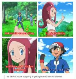 Ash ketchum doesn t understand the art of getting girls on pokemon