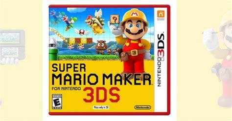 3ds Mario Reg 3 target mario maker 3ds only 24 99 reg 39 99