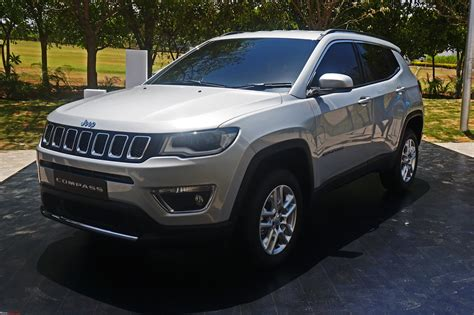 jeep india compass meeting the jeep compass edit priced between 14 95 to 20