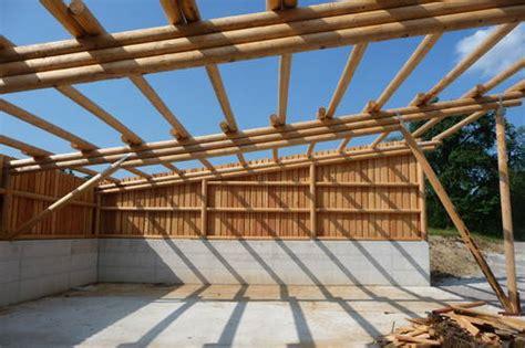 carport aus rundholz rundholz bearbeitung