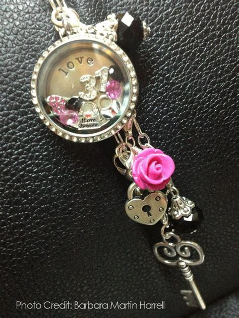 Origami Owl Birthday Locket - the wonderful of the parkers time with origami