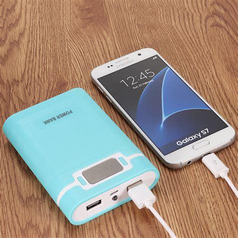 Power Bank Samsung Di Bec diy portable 10000mah power bank with oled display for samsung s8 iphonex 8 8plu ebay
