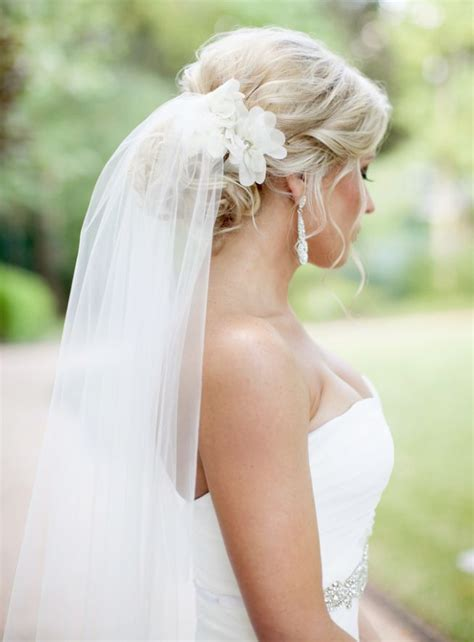 Wedding Hairstyles Hair With Veil by Wedding Hair With Veil On Top Www Pixshark Images
