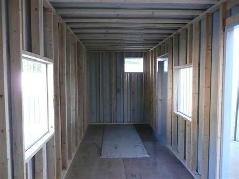 insulation interior finishing container technology