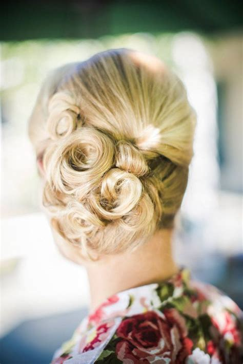 five stunning bridal updos for the hopeless the pink