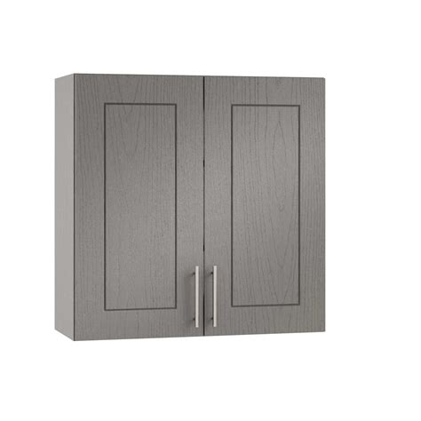 2 door kitchen wall cabinet weatherstrong assembled 24x30x12 in palm beach open back