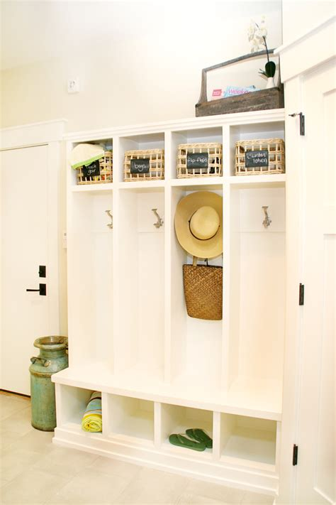 small entryway storage hall traditional  baskets bench