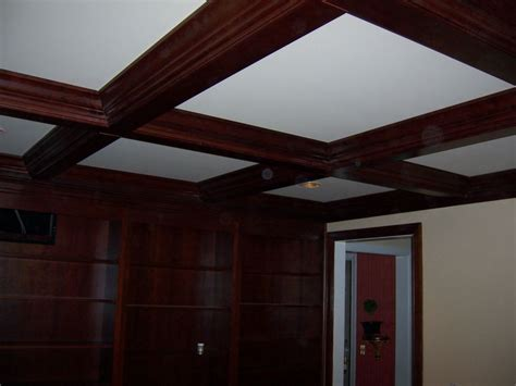 coffered ceilings mki custom trimwork and painting coffered ceilings