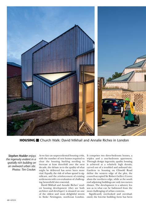 architects today architecture today mikhail riches