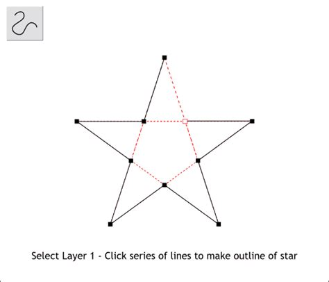 How To Make A Five Point Out Of Paper - page 4 xara xone workbook step by step tutorial