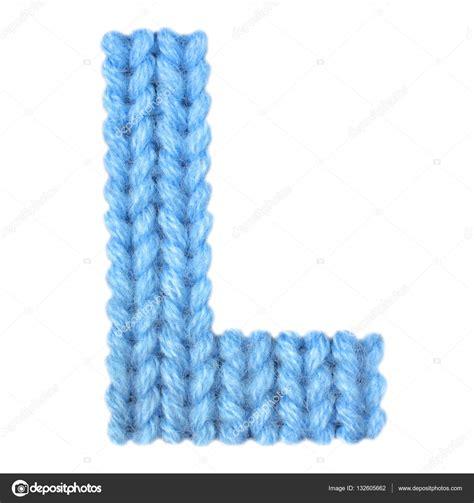 l color letter l alphabet color blue stock photo