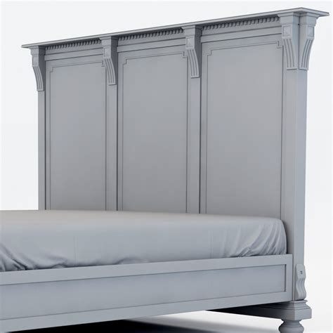 restoration hardware st james bed restoration hardware st james king bed wit 3d model max cgtrader com