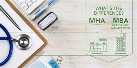 Difference Between Mba And Ms In Healthcare Administration by The Difference Between An Mha And Mba In Health Care